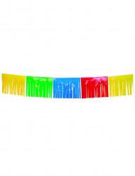 Veelkleurige franje slinger 10 meter