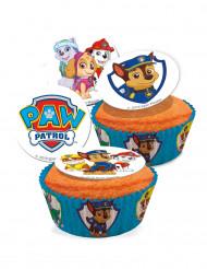 16 Paw Patrol™ suikerdecoraties 3.4 cm