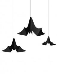 3 vleermuis ophangdecoraties