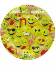 10 kartonnen Emoji™ borden
