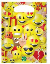 6 Imoji™ feestzakjes 17 x 23 cm