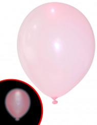 5 Roze LED ballonnen Illooms®