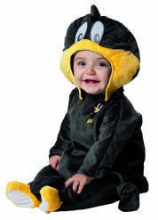 Deluxe Looney Tunes™ Daffy kostuum voor baby