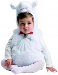 Wit lammetje kostuum voor baby