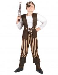 Gespierde piraat kostuum voor kinderen