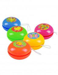 5 Gekleurde mini yoyo
