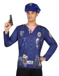 Politie t-shirt voor mannen