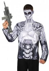 Robot t-shirt voor mannen