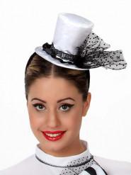 Mini hoge hoed voor vrouwen