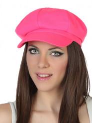Fluo roze pet voor volwassenen