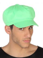 Fluo groene pet voor volwassenen