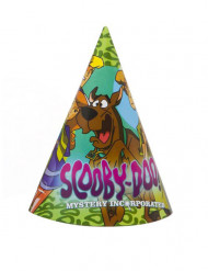 4 Scooby Doo™ feesthoeden