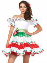 Sexy Mexicaanse señorita jurk voor dames