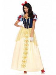 Luxe Sneeuwwitje kostuum voor vrouwen