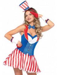 Sexy Amerikaans kostuum voor vrouwen