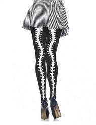 Halloween skelet legging voor vrouwen