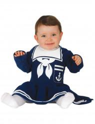 Blauw matrozenkostuum voor baby's