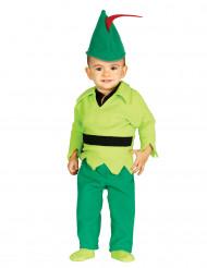 Klein woudjongen kostuum voor baby