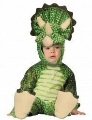 Groen Triceratops kostuum voor baby