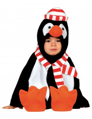 Klein pinguïnkostuum voor baby