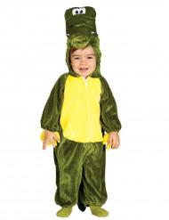 Groen krokodil kostuum voor kinderen