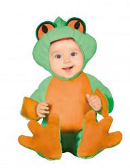 Kleine kikker kostuum voor baby