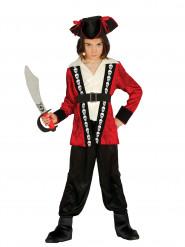Doodskop kapitein kostuum voor jongens
