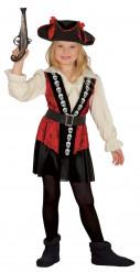 Doodskop piraten kapitein kostuum voor meisjes