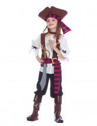 Stoer piratenkostuum voor meisjes