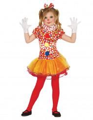 Clownskostuum met tutu voor meisjes
