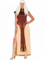 Troon koningin kostuum voor vrouwen
