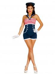 Pin up matroos kostuum voor vrouwen