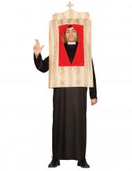 Biechtstoel kostuum voor volwassenen