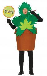 Cannabis plant kostuum voor volwassenen