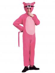 Roze panter outfit voor volwassenen