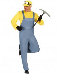 Schattig geel mannetje kostuum voor volwassenen