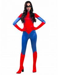 Rode spin kostuum voor vrouwen