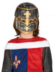 Plastic ridder helm voor kinderen