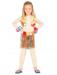 Veelkleurige Hawaii set voor kinderen