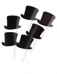6 photobooth hoge hoeden