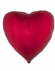 Rode hart ballon 45 cm