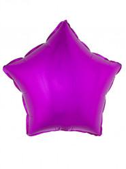 Fuchsia ster ballon 45 cm