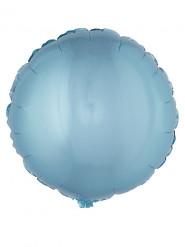 Ronde turquoise folie ballon 45 cm
