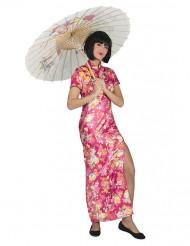 Roze Japans kostuum voor dames