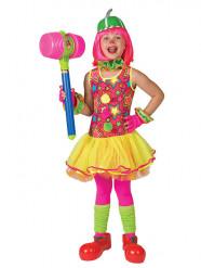 Sterren clown kostuum voor meisjes