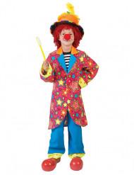 Kleurrijk clown kostuum met sterren voor jongens