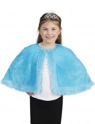 Blauwe cape voor meisjes