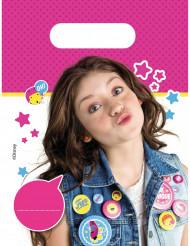 6 plastic Soy Luna™ zakken