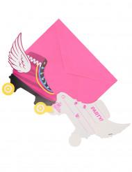 6 Ik ben Luna™ uitnodigingen en enveloppen