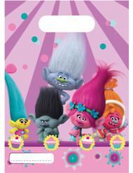 6 cadeau tasjes van Trolls™